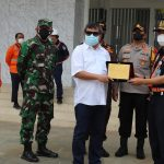 Dandim 0611/Garut bersama forkopimda kab. Garut sambut tim Direksi PT KAI DAOP 2 Bandung