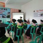 Dengan Perhatikan Prokes Pembina Yayasan Pandusewu Kec. Cisewu Lakukan Tasyakur Binnimah Pelepasan Siswa Tahun Ajaran 2020/2021