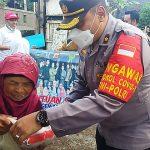 Forkompimcam Cilawu bersama dengan Forum Agen Mandiri Peduli salurkan bantuan