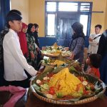 SMPN 3 Bungbulang Dalam Rangka Peringati Maulid Nabi Besar Gelar Lomba Tumpeng Bagi Siswa