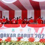 Pembukaan Pekan Olahraga Kabupaten (Porkab),vBupati Garut, mengucapkan selamat