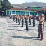 Minggu Militer Dimanfaatkan Prajurit Kodim 1622/Alor Membina Fisik Jaga Imunitas
