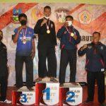 Pesilat PSHT dari Satuan Yonif Raider 303/SSM meraih Juara 1 kelas F di Porkab Garut